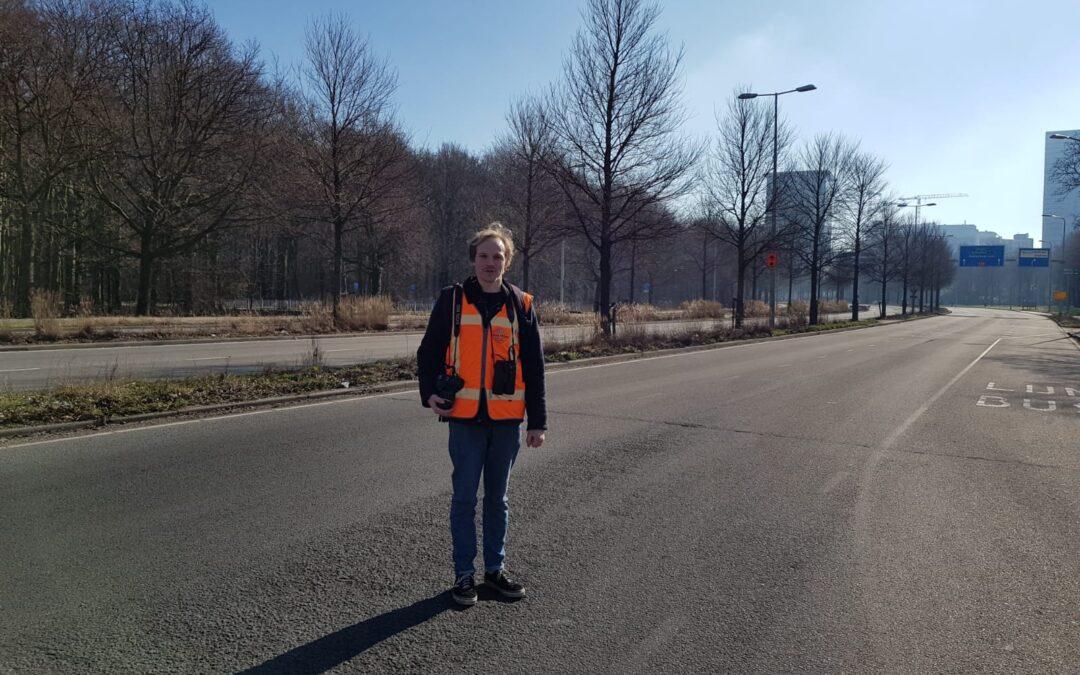 De hele Utrechtsebaan voor ecologisch onderzoek door Aqua-Terra Nova