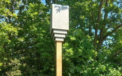 Nieuwe rustplaats voor passerende vleermuizen